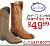 Old West Cowgirl $49.99