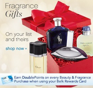 Fragrance Gifts. On your list and theirs. Shop now.