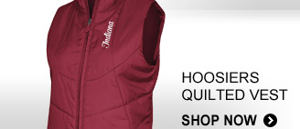 Shop Hoosiers Quilted Vest  »
