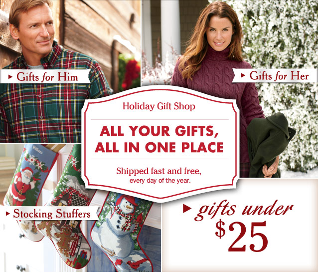 All Your Gifts, All in One Place. Shipped fast and free, every day of the year. Holiday Gift Shop.