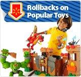 Rollbacks on toys