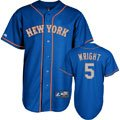 David Wright Jersey: Majestic #5 New York Mets Alternate Home Replica Jersey