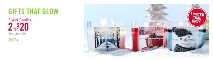 2 for $20 Candles