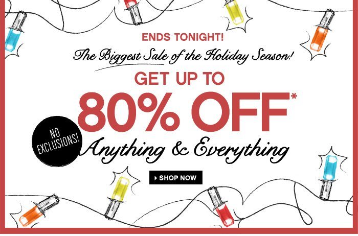 The Biggest Sale of the Holiday Season