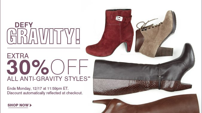 Click here to shop Anti-Gravity