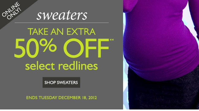 Online Only: Extra 50% OFF Select Redline Sweaters