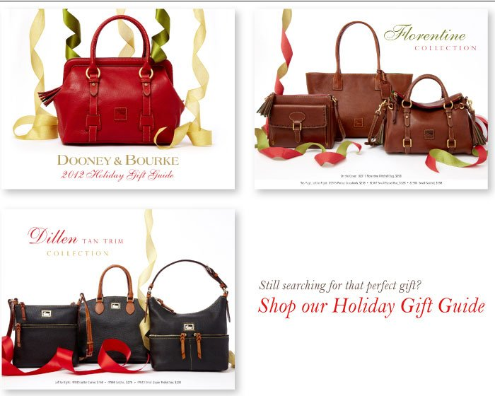 Dooney & Bourke 2012 Holiday Gift Guide
