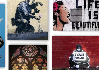 Shop Gift It: Canvas Art ft. Banksy