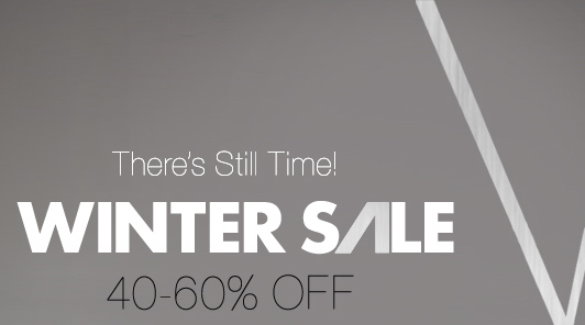 Finish Shopping Today! Up to 60% Off Winter Sale!