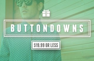 Buttondowns: $19.99 or Less