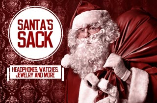 Santa's Sack: Headphones, Watches, Jewelry & More