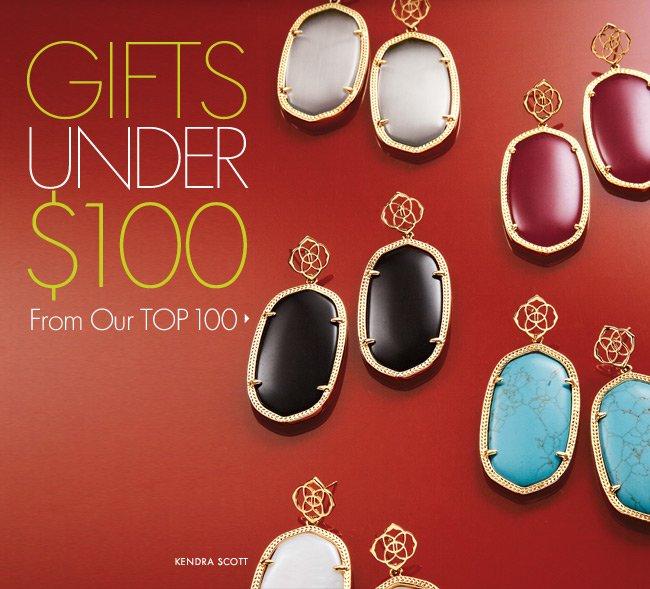 Gifts: Under $100