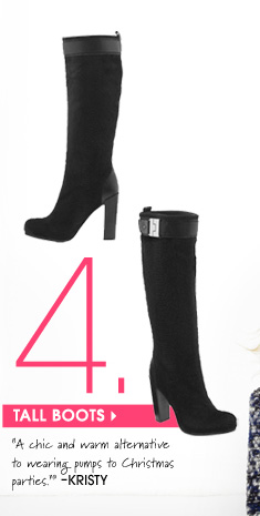 4. TALL BOOTS