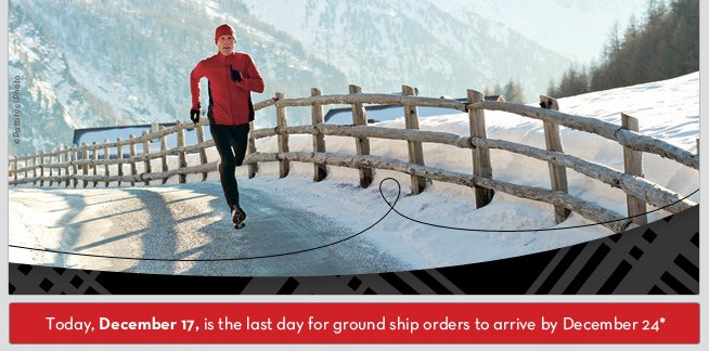 Today, December 17, is the last day for group ship orders to arrive by December 24*