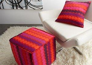 Bright Ideas: Pillows & Hassocks