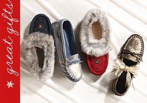 Moccassin Slippers by Zerostress