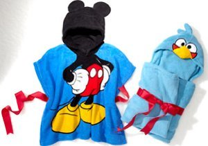 Hooded Blankets: Superman, Mickey Mouse & More