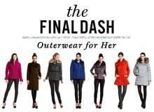 The Final Dash Outerwear for Her
