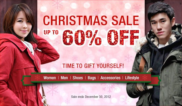 Christmas Sale - Up to 60% off