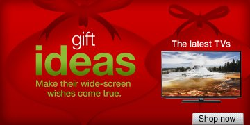 Gift  ideas. Make their wide-screen wishes come true. The latest TVs. Shop  now.