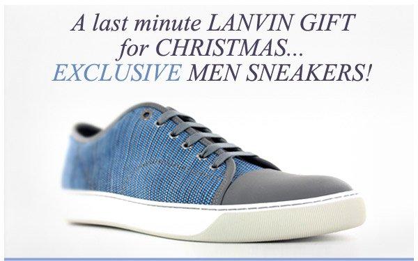 LANVIN...EXCLUSIVE SNEAKERS