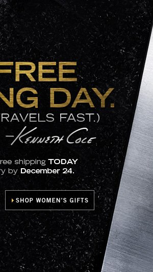 IT'S FREE SHIPPING DAY. / SHOP WOMEN'S GIFTS
