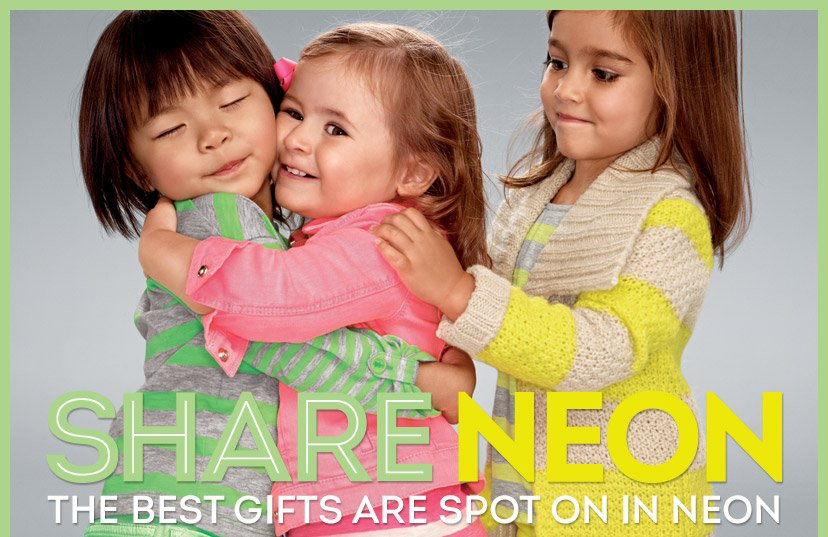 SHARE NEON | THE BEST GIFTS ARE SPOT ON IN NEON