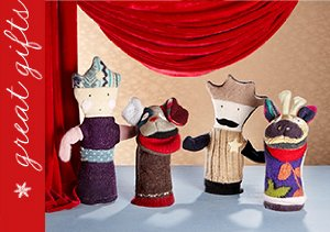 Indoor Play: The Puppet Show