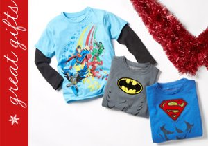 Kid's Republic:  Superhero Tees