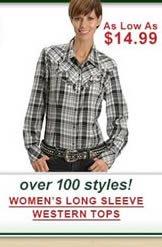 Women's Long Sleeve Western