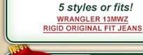 Wrangler 13MWZ Rigid