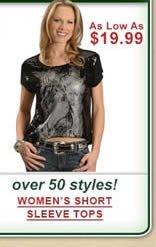Women's Short Sleeve Tops