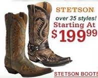 Stetson $199.99