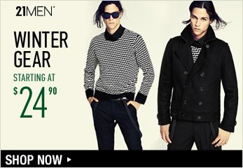 21MEN Holiday Attire Starting at $24.90 - Shop Now
