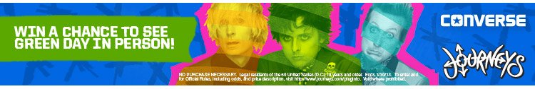 Win a Chance to See Green Day Live!
