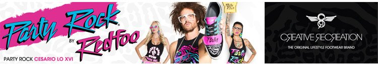 Have you seen the Party Rock shoe?
