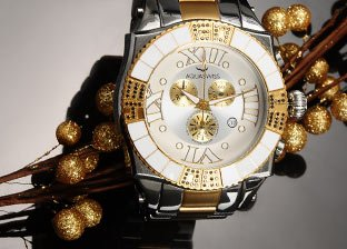 Time for Luxury Style: Designer Watches by Invicta, Dedia & more