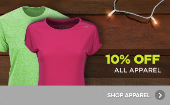 10% Off All Apparel - Shop Now