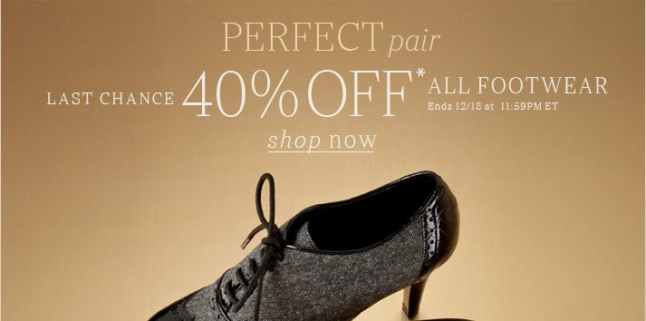 Click here to shop footwear