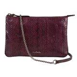Paul Smith Handbags - Damson Sienna Snakeskin Clutch Bag