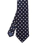 Paul Smith Ties - Classic Navy Polka Dot Tie