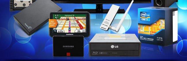 HDD, GPS, SSD, ODD, Networking, CPU