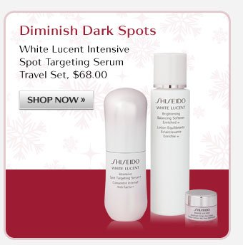 WHITE LUCENT Intensive Spot Targeting Serum Travel Set
