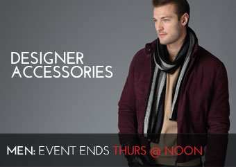 DESIGNER MEN'S ACCESSORIES