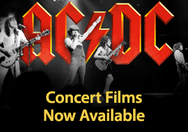 AC/DC: Concert Films Now Available