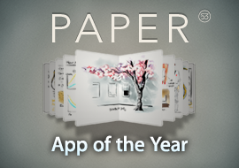 Best of 2012 App of the Year: Paper by Fifty-Three