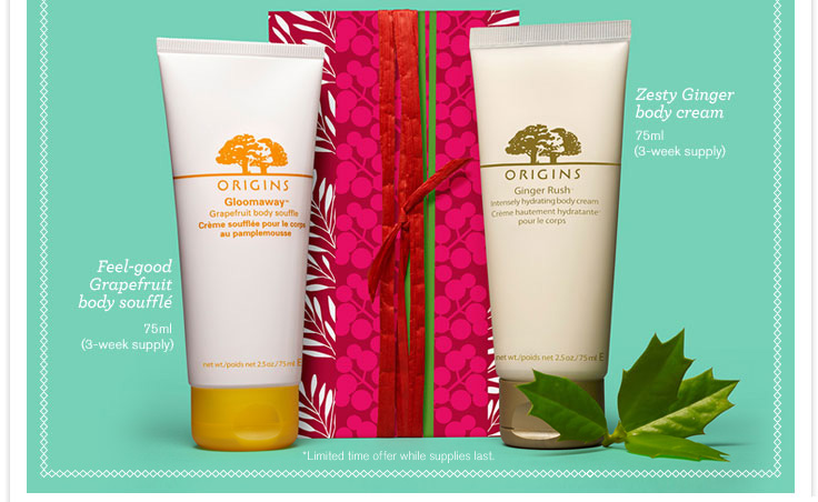 Spend $55. Get Gloomaway and Ginger Rush FREE.