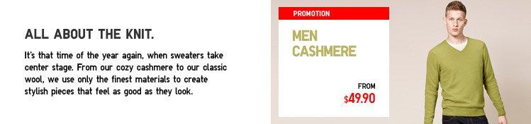 MEN CASHMERE