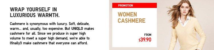 WOMEN CASHMERE
