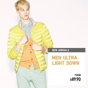 MEN ULTRA LIGHT DOWN